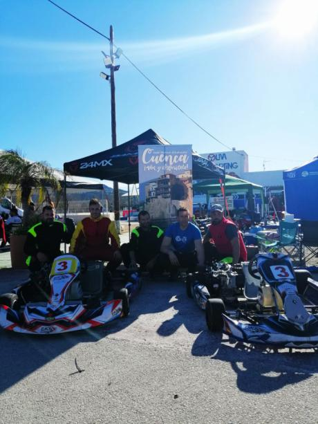 El Club Cuenca Motor 4x4 en el Campeonato de Karting de resistencia 4T 2020