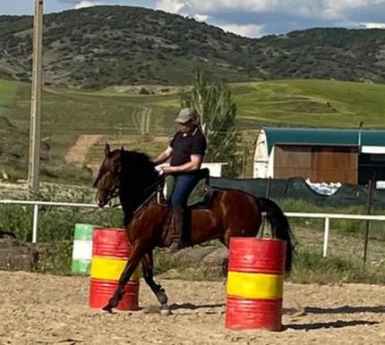 El jinete José Antonio Muñoz del Castillo participará en la II Copa de España de equitación de trabajo