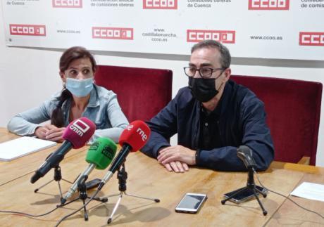 CCOO Cuenca trabaja para tener operativa tras el verano su nueva sede en el número 7 de la calle Segóbriga