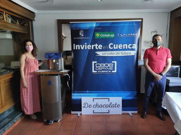 Invierte en Cuenca respalda la apuesta de 'de chocolate' por el producto personalizado en este alimento