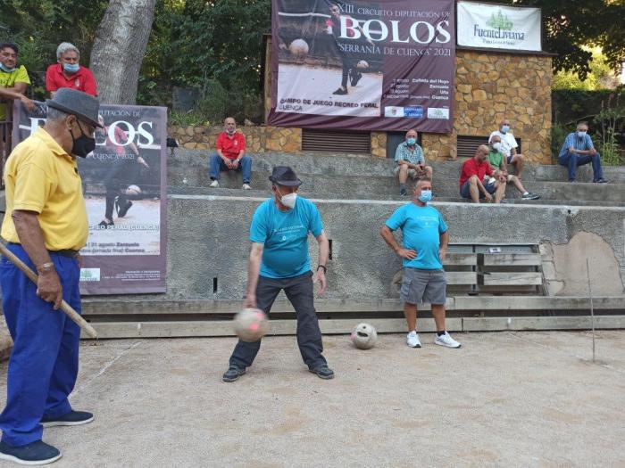 El equipo de Buenache de la Sierra se alza con la victoria del XIII edición del Circuito de Bolos en la Serranía