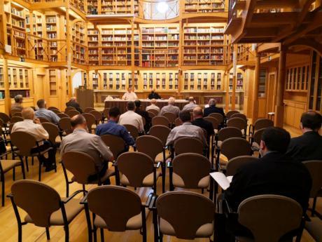 El Obispo de Cuenca se reúne con los sacerdotes de la Vicaría de la ciudad de Cuenca para presentar y promover el programa del Curso Pastoral 2021-2022