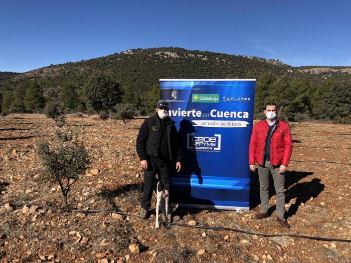 Invierte en Cuenca apoya la apuesta de trufa de La Vega por el emprendimento en plena Serranía