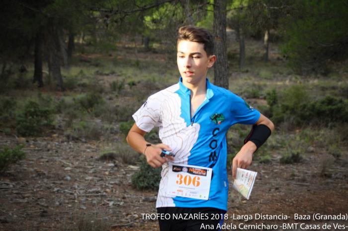 David Cotillas Moya tercero en categoría élite en el Sprint de Baza en Granada