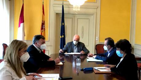 La Subdelegación de Gobierno acoge la reunión del Centro de Coordinación Operativa Provincial para el control y seguimiento de medidas contra el Covid en esta provincia