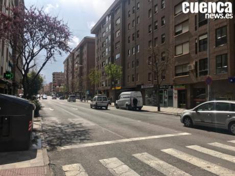 Restricciones de tráfico en la calle Hermanos Becerril por las obras de asfaltado