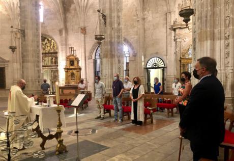 La Catedral acoge la misa en honor a San Julián