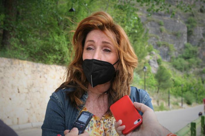 Cristina Fuentes, portavoz del grupo municipal Ciudadanos en el Ayuntamiento