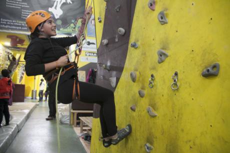 La escalada inicia su andadura como parte del programa Somos Deporte 3-18