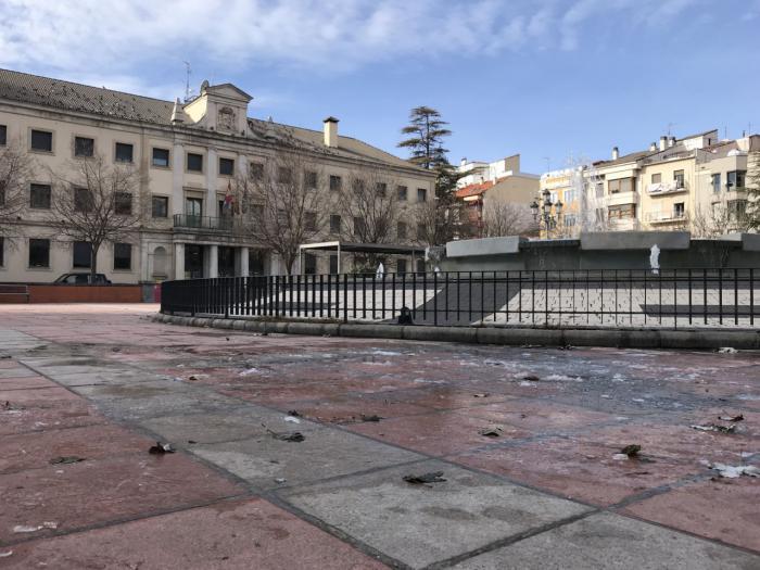 El frío gélido mantiene en alerta a Cuenca