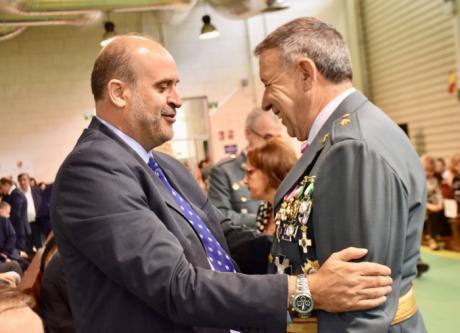 Martínez Guijarro reconoce la labor de las Fuerzas y Cuerpos de Seguridad del Estado como garantes de derechos y libertades