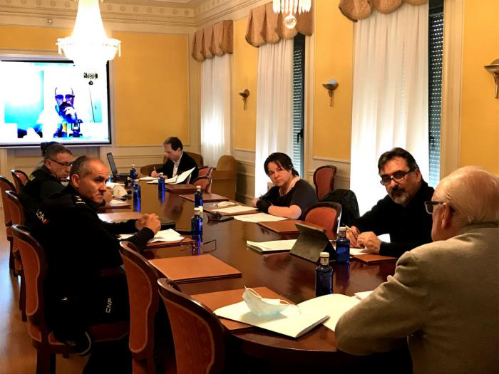 El subdelegado del Gobierno, Juan Rodríguez, preside la Comisión Provincial de Seguimiento de Flujos Migratorios en Cuenca