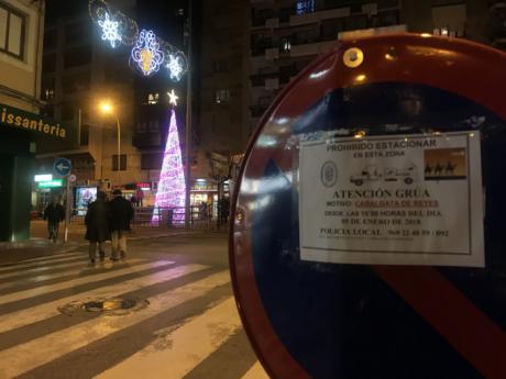 Restricciones de tráfico y autobuses urbanos suspendidos por la cabalgata de los Reyes Magos