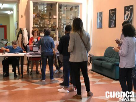 """Dolz llama a los conquenses a votar para """"reactivar"""" Cuenca"""