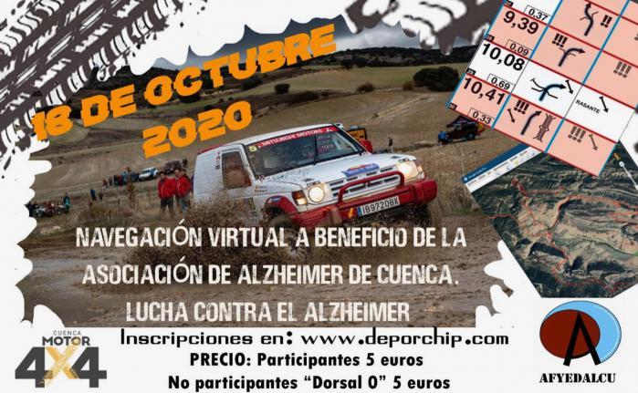 AFYEDALCU realizará una carrera de navegación virtual para conmemora el Día Mundial del Alzheimer