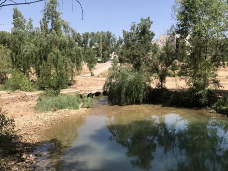 La Confederación Hidrográfica del Júcar espera terminar la recuperación de la ribera del río a su paso por la capital a finales de 2020