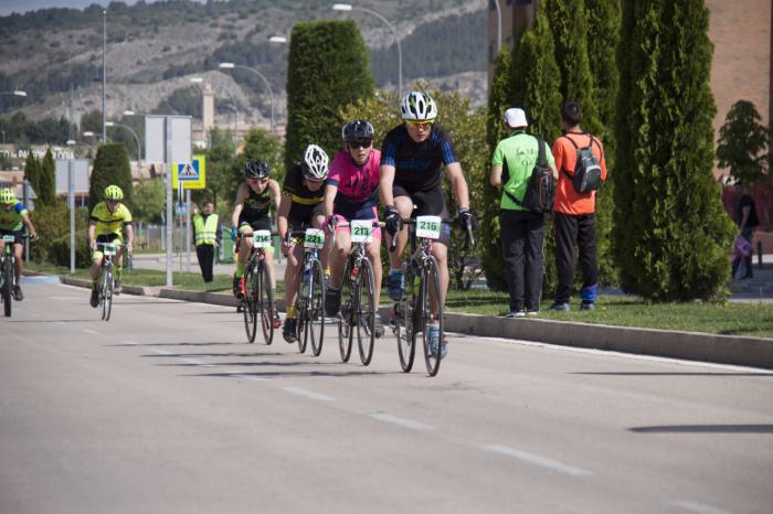 Cuenca acoge la cuarta prueba del campeonato provincial de ciclismo en carretera y montaña