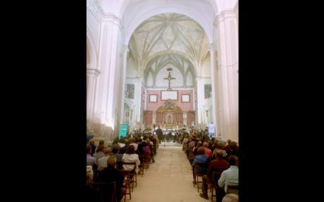 La Joven Orquesta de Cuenca ofrece su concierto en Carboneras de Guadazon, con el apoyo de la Fundación Globalcaja
