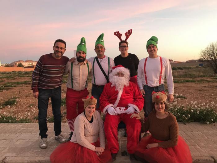 Papá Noel visitó Mota del Cuervo