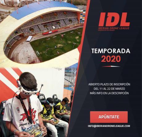 La Liga Ibérica de Drones IDL 2020 llega al monasterio de Uclés
