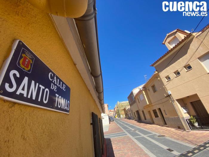 Calle de Santo Tomas en el barrio de Buenavista