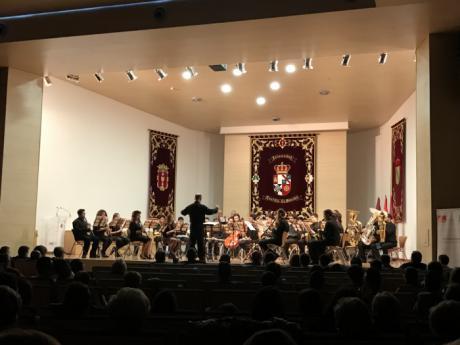 El Paraninfo acogió por segundo año consecutivo el concierto de Marchas Procesionales de El Bautismo