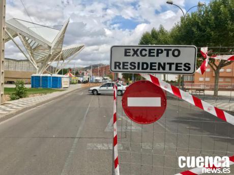 Cortada la calle Camino de la Resinera hasta que finalice la Feria de San Julián