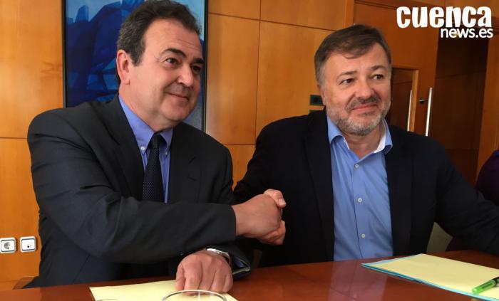 En imagen Isidoro Gómez Cavero y Darío Dolz