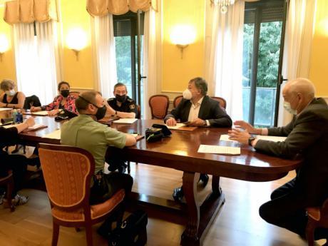 La Subdelegación de Gobierno acoge una nueva reunión del Centro de Coordinación Operativa Provincial