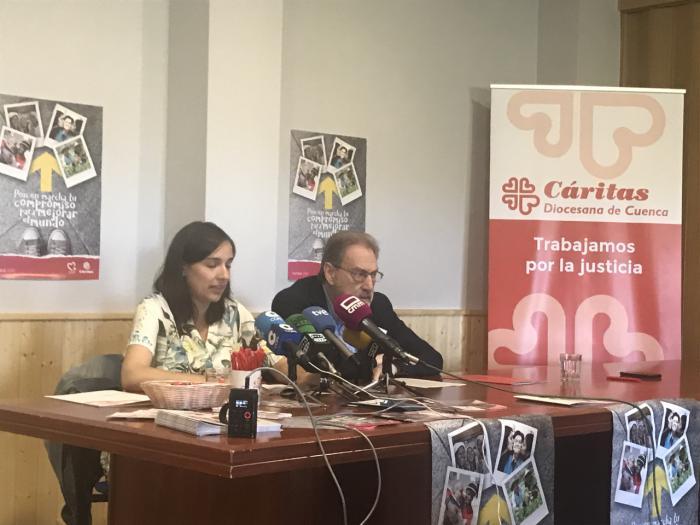Cáritas Cuenca destinó 2,4 millones de ayuda a colectivos vulnerables en 2018