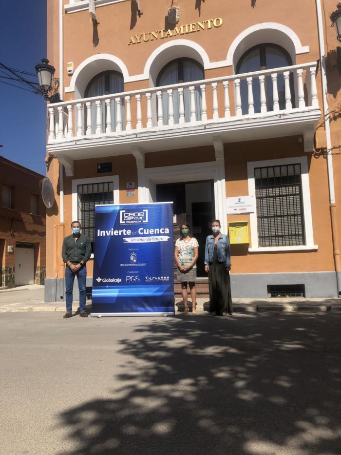El Ayuntamiento de Villares del Saz ofrece su buena ubicación para acoger empresas del Invierte en Cuenca