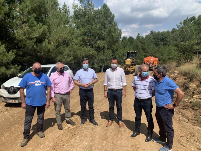 Junta y Diputación comienzan con las actuaciones de adecuación de caminos forestales en la provincia