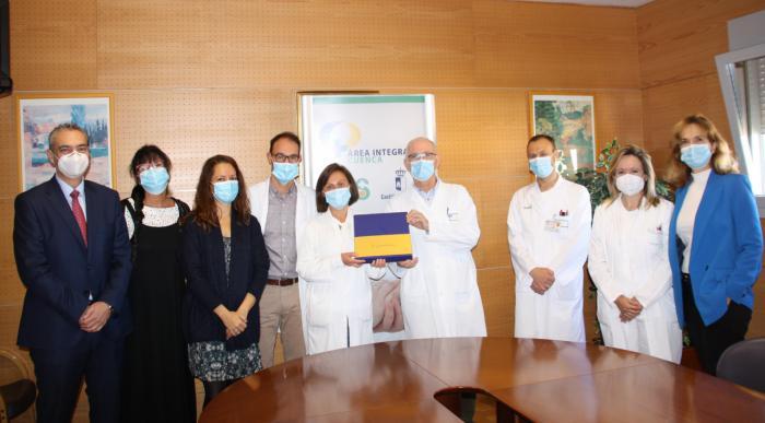 """El laboratorio de Análisis Clínicos Virgen de la Luz, galardonado en los premios internacionales """"Univants"""" de excelencia sanitaria"""
