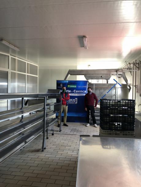 Invierte en Cuenca visita la importante apuesta de Queserías Sáiz por ampliar sus instalaciones