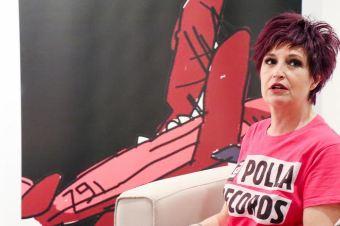 Marisol Galdón, mítica presentadora de Plastik, la historia de la televisión musical en España
