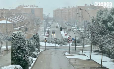 Alerta roja por fuertes nevadas este viernes