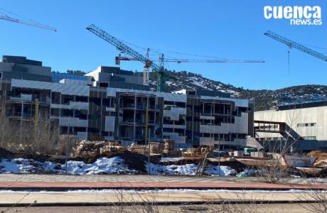 García-Page visita las obras del nuevo Hospital Universitario