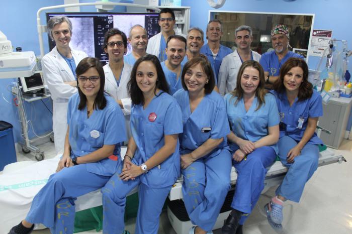 La unidad de Radiología Intervencionista del Hospital de Toledo alcanza los 100.000 pacientes atendidos