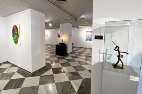 Exposición Solidaria de la Asociación de Parkinson Cuenca