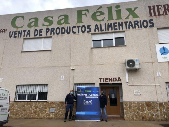 Invierte en Cuenca asesora a dos nuevos emprendedores de Valverde de Júcar