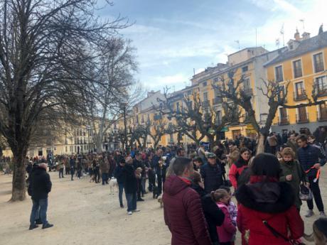 Cuenca celebró la festividad de San Antón con una procesión y la tradicional bendición de animales