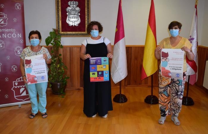 El Ayuntamiento de Tarancón pone en marcha una campaña para reforzar el uso de mascarilla en bares y restaurantes