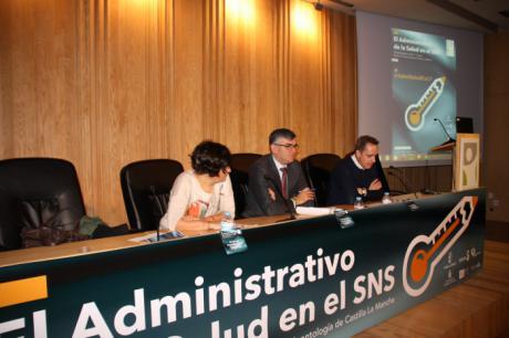 El Gobierno de Castilla-La Mancha felicita y agradece a los administrativos de salud el esfuerzo que realizan por mejorar la atención