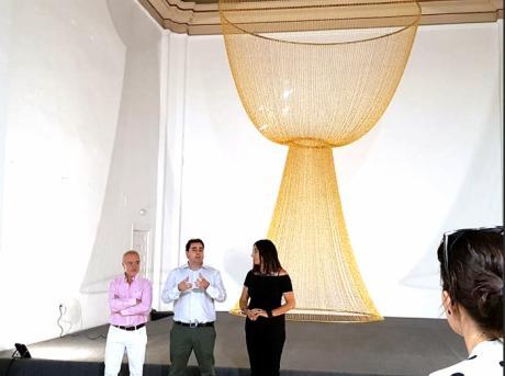 La obra de la artista belga Monique Bastiaans se presenta al público conquense en la Fundación Antonio Pérez