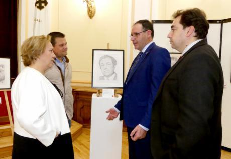 Diputación abre sus puertas a una exposición benéfica de la Venerable Hermandad del Prendimiento de Jesús