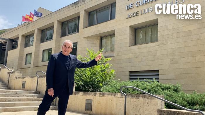 José Luis Perales se muestra orgulloso y emocionado en el Teatro Auditorio que ya lleva su nombre