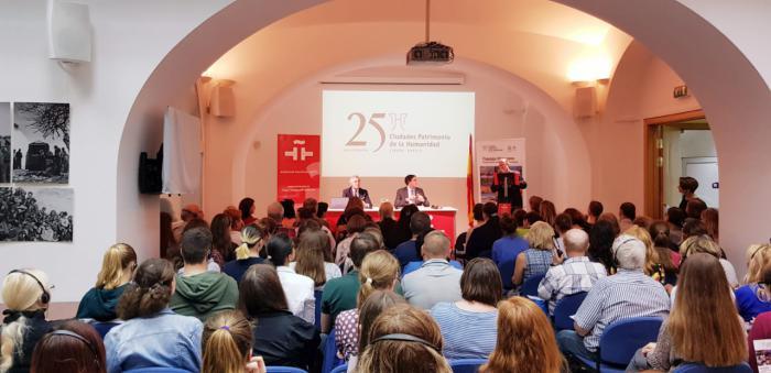 Mariscal cierra en el Instituto Cervantes de Moscú la campaña de promoción de Cuenca y las Ciudades Patrimonio