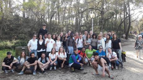 Jóvenes conquenses participan en un intercambio en Francia gracias al programa de movilidad europea del Ayuntamiento