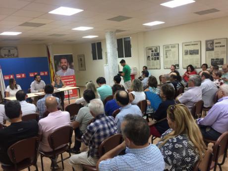 José Luis Blanco se compromete a visitar una agrupación socialista cada semana para reforzar la base del partido en Castilla-La Mancha