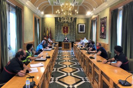 Las Juntas Locales de Protección Civil y de Seguridad acuerdan centrar las actuaciones en San Julián en garantizar las medidas de seguridad y sanitarias